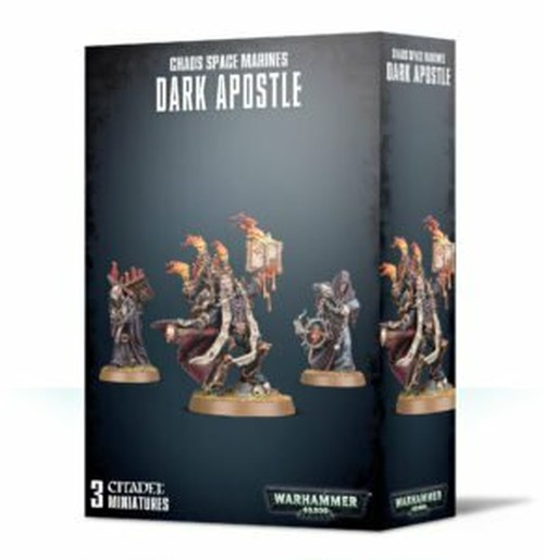 ダークアポスル CHAOS SPACE MARINES DARK APOSTLE