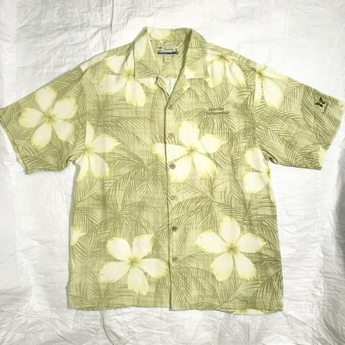 【KAHALA】カハラ アロハシャツ SILK100%