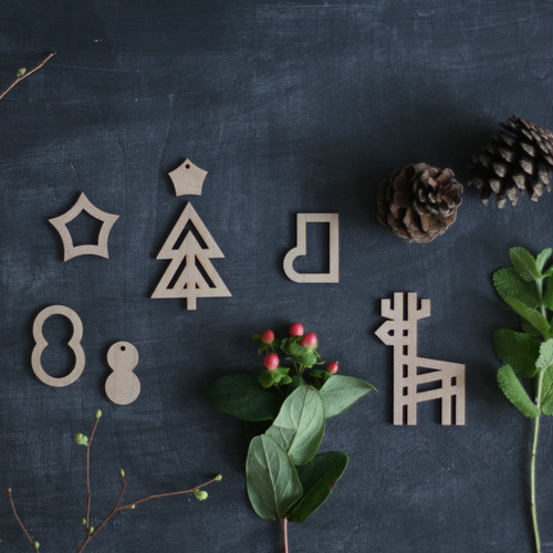 forest ornament / 森のオーナメント