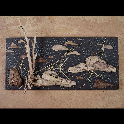 流木で描く山水画(M saiz) #6