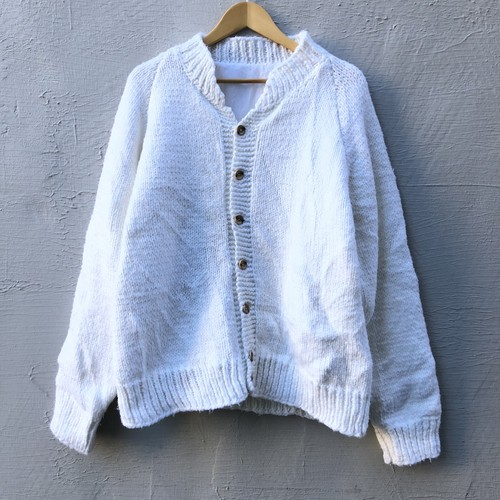 USED Antler Knit Cardigan(L)
