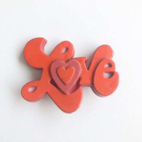 LOVE brooch[b-252]