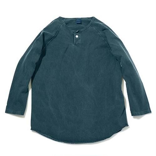 Good On / グッドオン | ONE BUTTON BASEBALL TEE / ワンボタンベースボールTシャツ - Pigment Dye