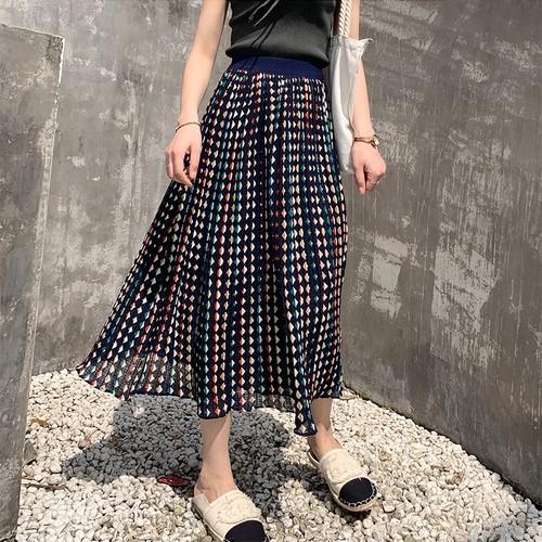 3色 nostalgic ハイウエストAラインスカート c3031
