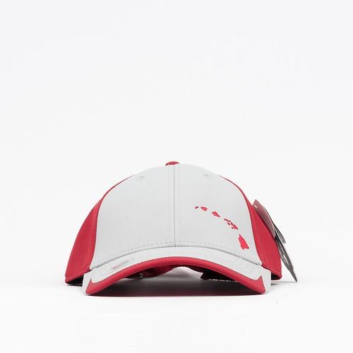808 Clothing Islands Embroidery Trucker Hat UPF50+【808クロージング】レッド アイランド エンボイドリー トラッカー ハット