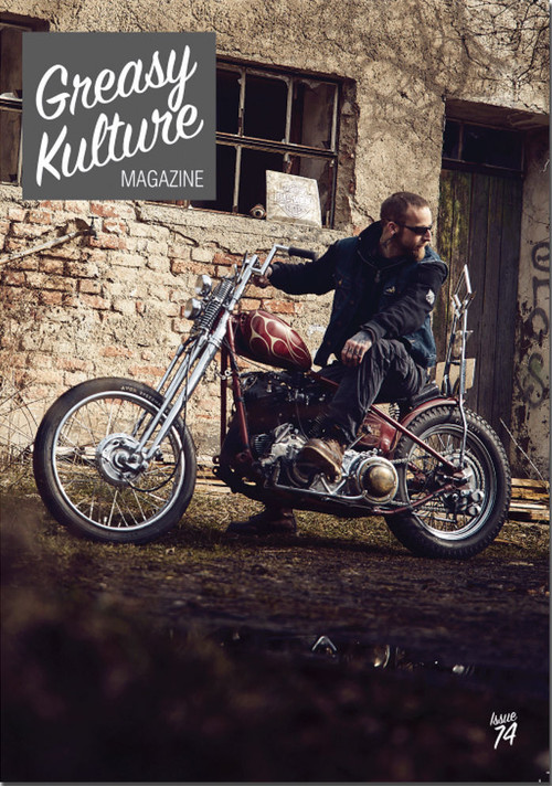 Greasy Kulture magazine issue#74