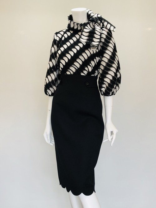 BLOUSE TWO PIECE