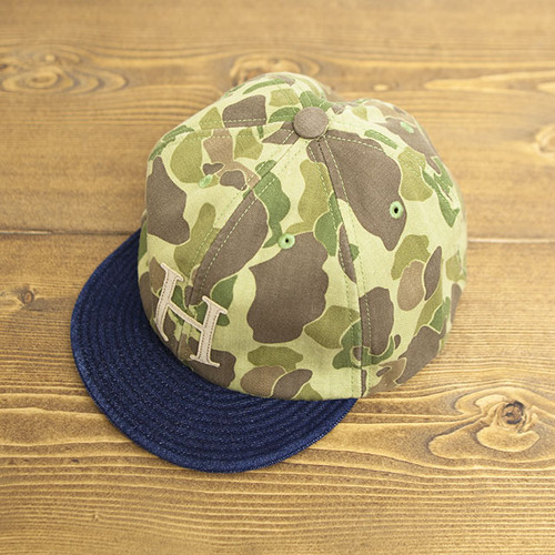 【SOLD OUT】COOCHUCAMP : Happy Cap / H : Camo