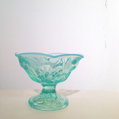 昔のオパールガラス / パフェグラス