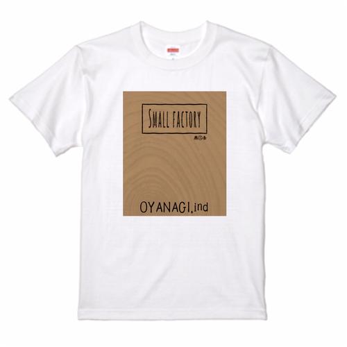 スモールファクトリーTシャツ by OYANAGI.ind 「送料無料」