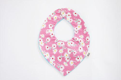 Bib:Pink Flower