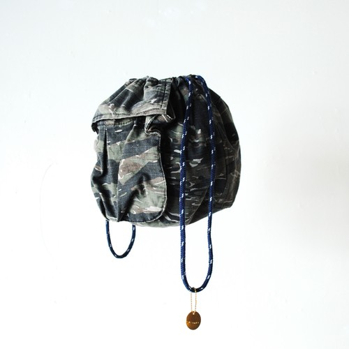 "『the girls』 military bag ""Tigerstripe"""