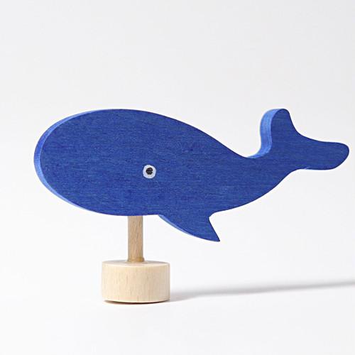 グリムス デコレーションフィギュア クジラ