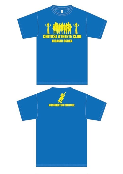 CHITOSE ATHRETE CLUB  オリジナルTシャツ