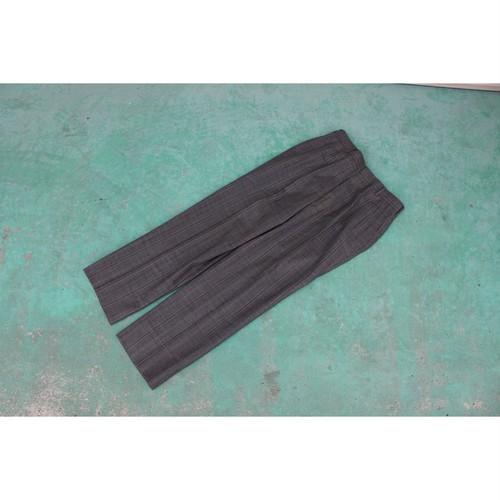 blue checked slacks