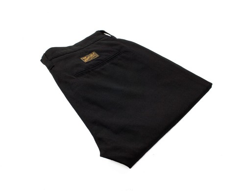 BENNY GOLD FIRST CLASS CHINO PANTS BLACK