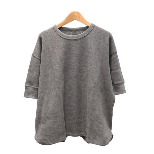 SOIL/ソイルTHERMAL CREW NECK HALF SL T-SHIRTワッフル半そでTシャツ【GNSL20051】