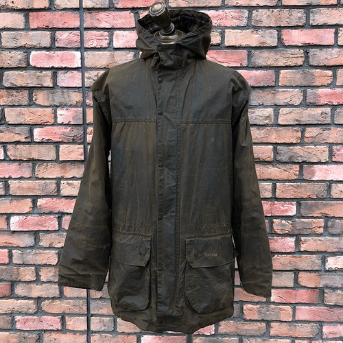 2000s Barbour Classic Durham Jacket Brown UK38