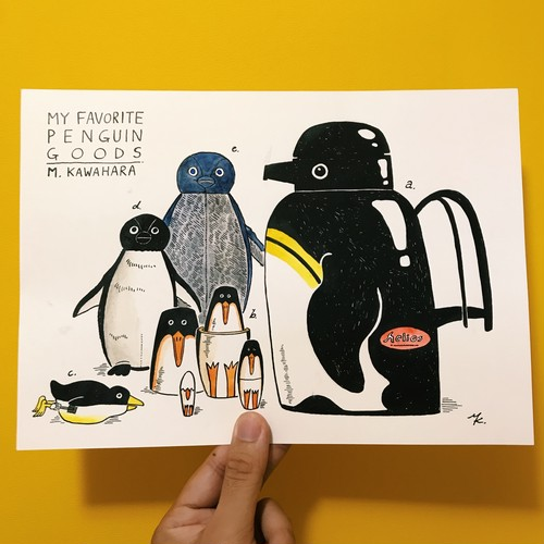 My Favorite Penguin Goods