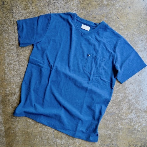 Original Hand Made Tshirt Men's (blue green)