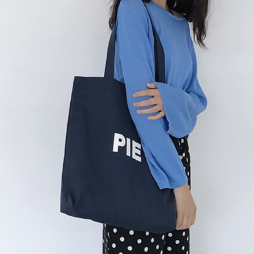 ロゴ カジュアル ハンド ショルダー トートバッグ キャンパスバッグ かばん バッグ 鞄 大きめ 大人 ラフ デート デイリー
