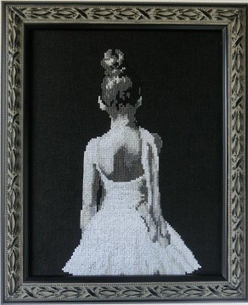 KIT Ballerina B 【刺繍生地:ジャバクロス】