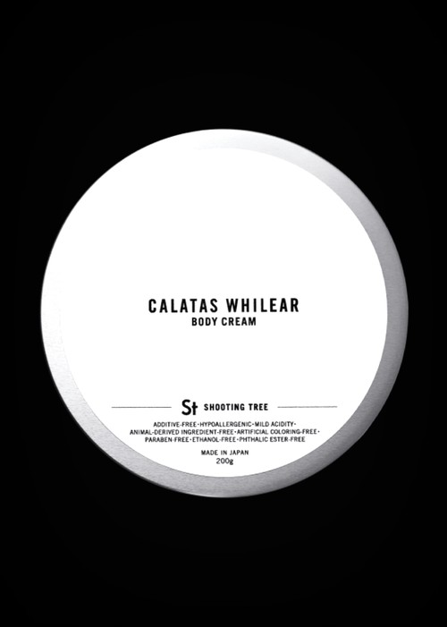 CALATAS】 カラタス ホワイリア ボディクリーム シューティングツリー [St]  200g