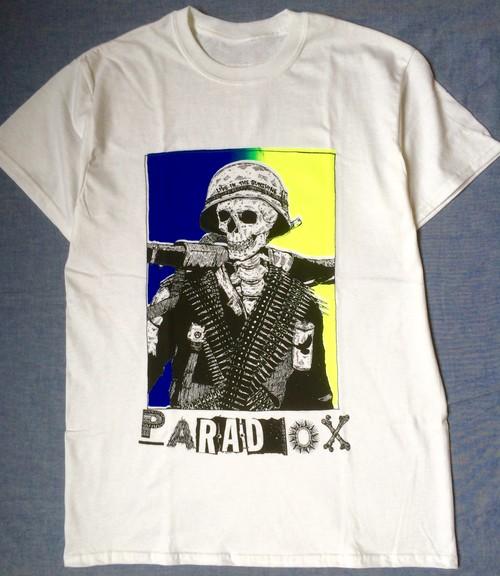 PARADOX HIROTTON War Skull Tシャツ スカル