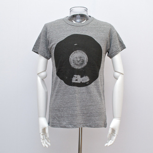 """Rotary Disk T-shirt Gray (Men's)""ArtLAB×岡田洋坪"