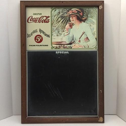 品番0714 Coca-Cola コカコーラ 1978年頃 チョークボード メニューサイン 黒板 ヴィンテージ 011