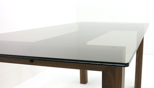 フラットガラス ダイニングテーブル DT320WN
