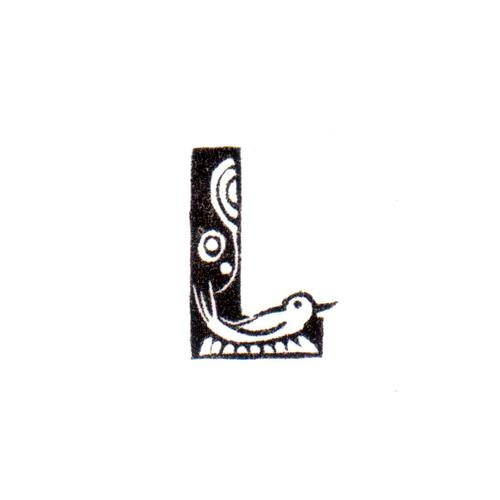 トリファベット L Bird Alphabet L