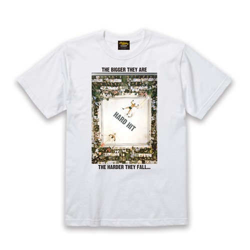 HH KNOCKOUT COTTON TEE / WHITE
