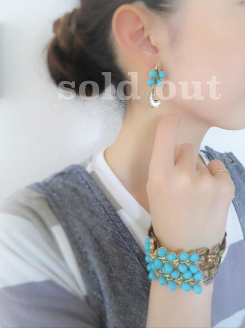 vintage pierced earrings <PE-TRTQ>