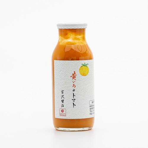 ネクスファーム【単品】IT技術を駆使して栽培した『黄いろのトマト100%ジュース』180ml入り 黄いろ、赤、紫、緑