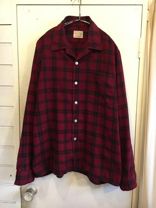 old hathaway wool × cotton shirts