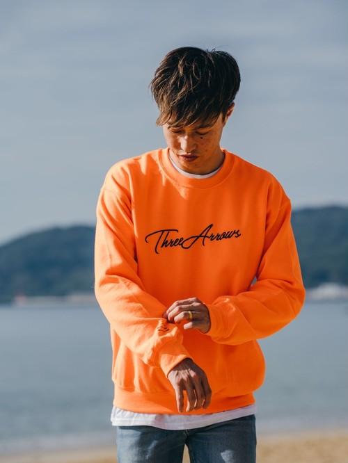 ThreeArrows SWEAT (orange × black)