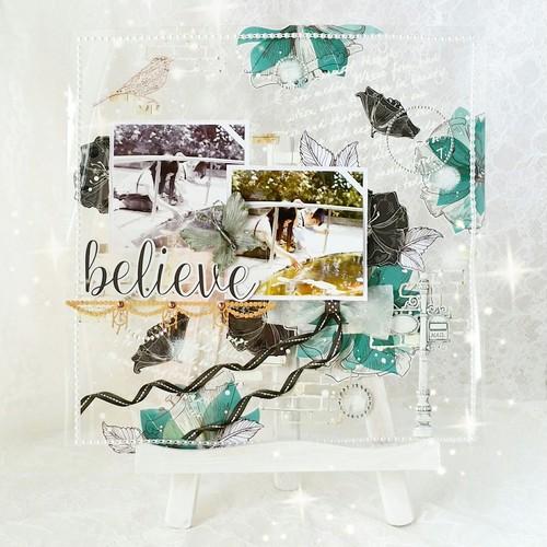 believe~クリアシート(12インチ完成版)