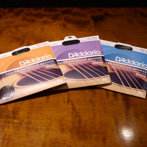 単品 / D'Addario / EXP15 / Coated Strings Phosphor Bronze