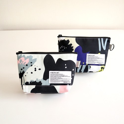 Flowers Pouch / gusset