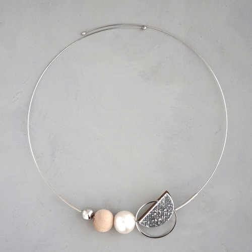 necklace C-NL06<silver>