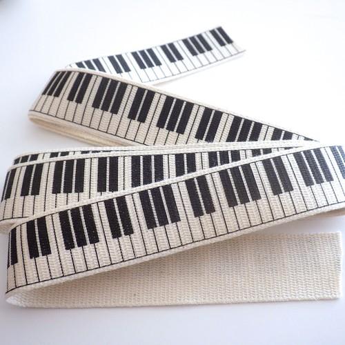 鍵盤柄 コットンテープ25mm幅 2m
