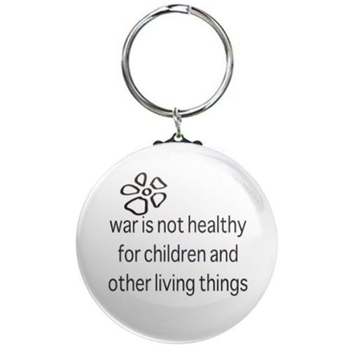 war is not healthy サインボードキーリング ☆数量限定品