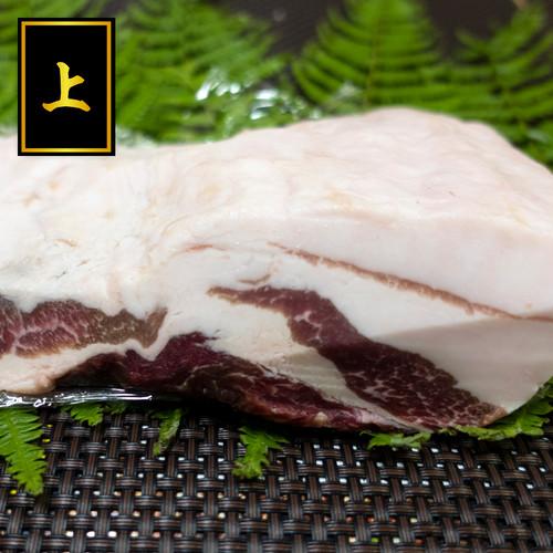 (上)バラ肉ブロック:500g【秘書の手みやげ】