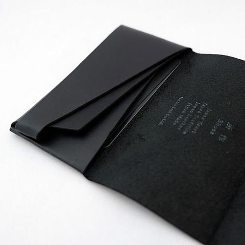 カードケース ブラック 所作