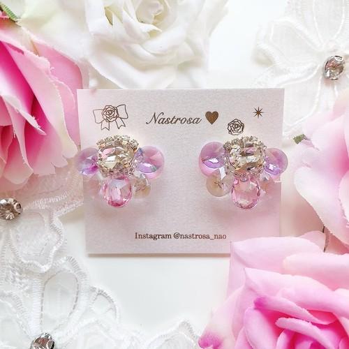 Fairy flower♡hydrangea(pierce/earring)