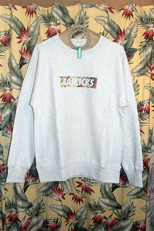 SAIKICKS FLOWER BOX LOGO CREW NECK