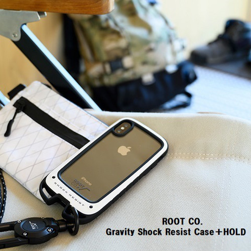 ROOT CO. / Gravity Shock Resist Case+HOLD