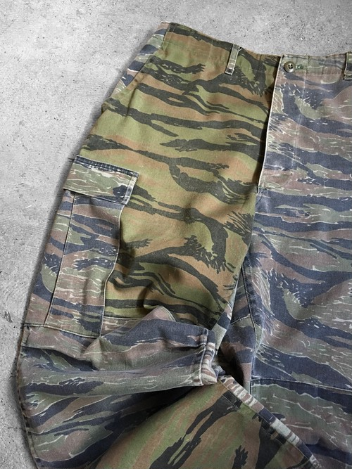 repair tiger camo cargo pants