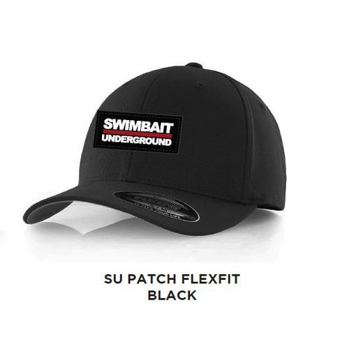 SU / PATCH FLEXFIT  ブラック